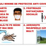 Informare către populație şi măsuri de protecție